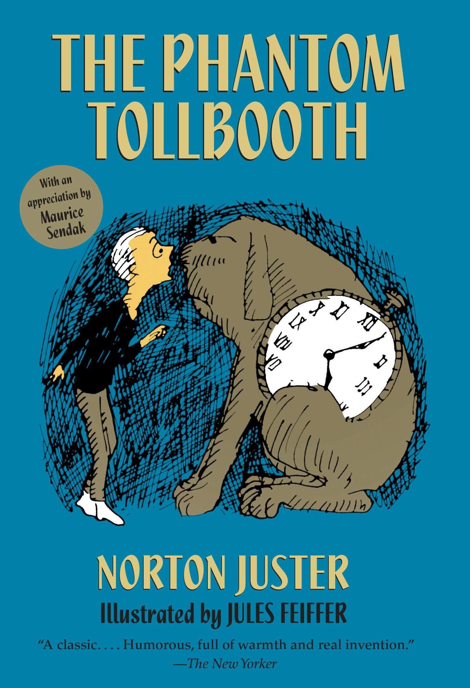 The Phantom Tollbooth Novel by Norton Juster