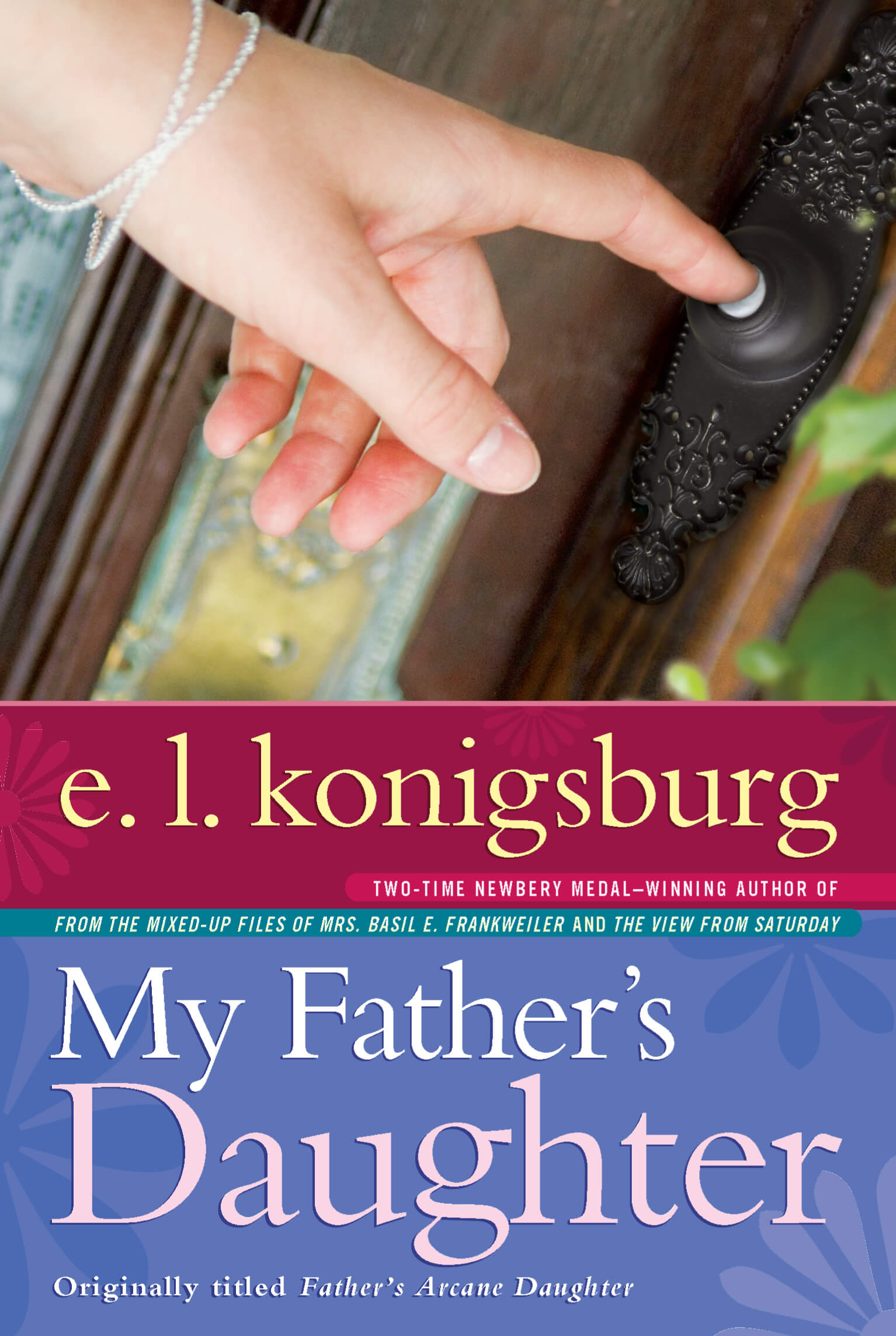 My Father's Daughter Book by E. L. Konigsburg