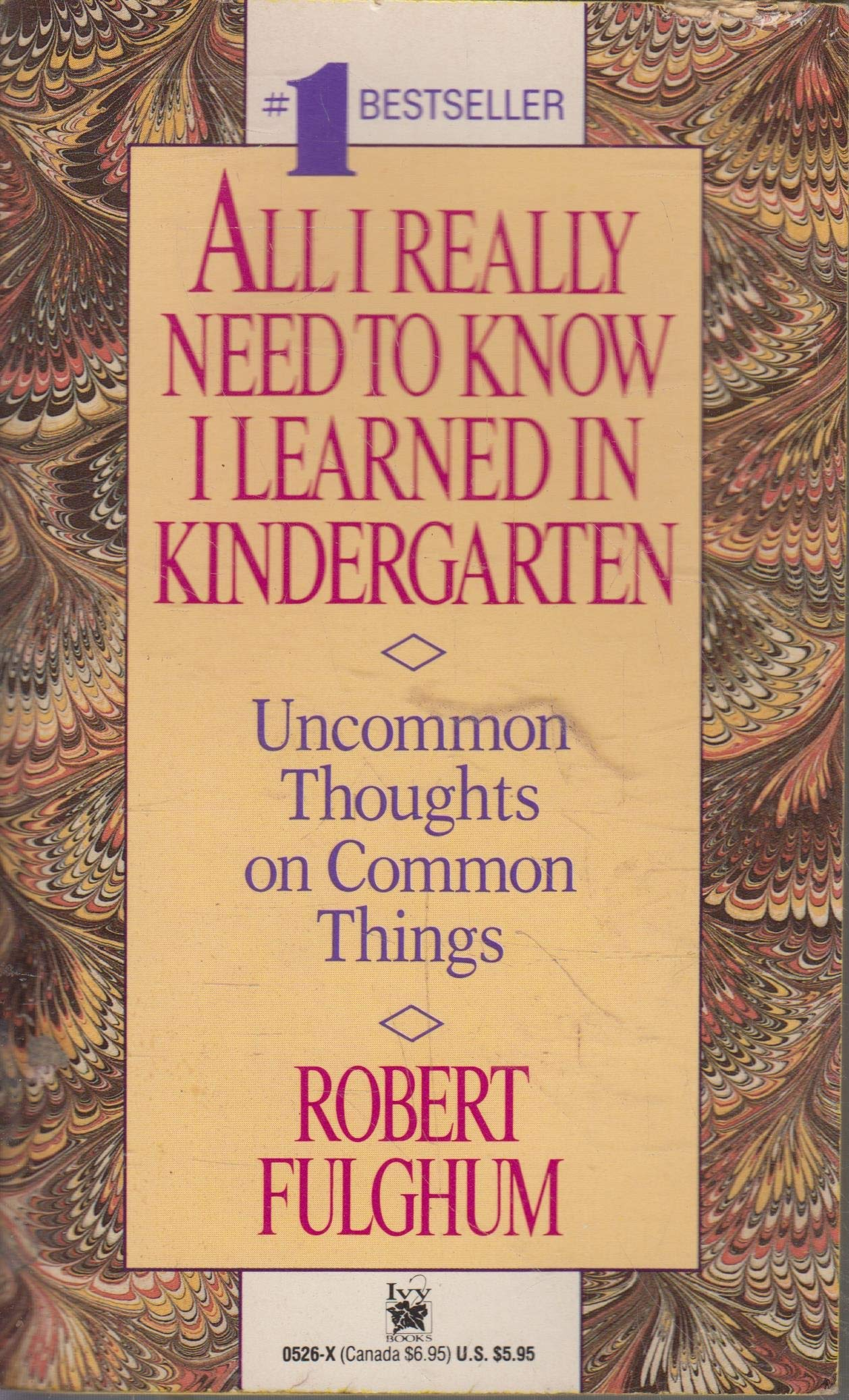 All I Really Need to Know I Learned in Kindergarten Book by Robert Fulghum