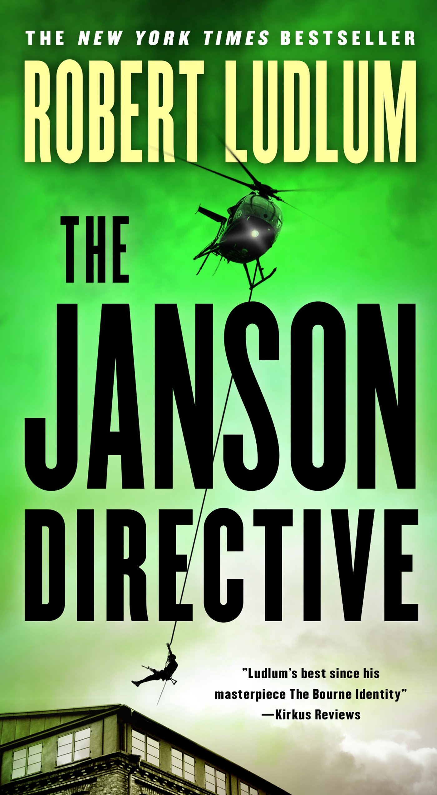 The Janson Directive Novel by Robert Ludlum