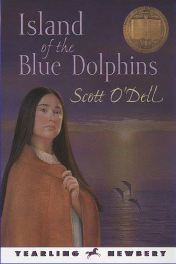 Island of the Blue Dolphins Novel by Scott O'Dell