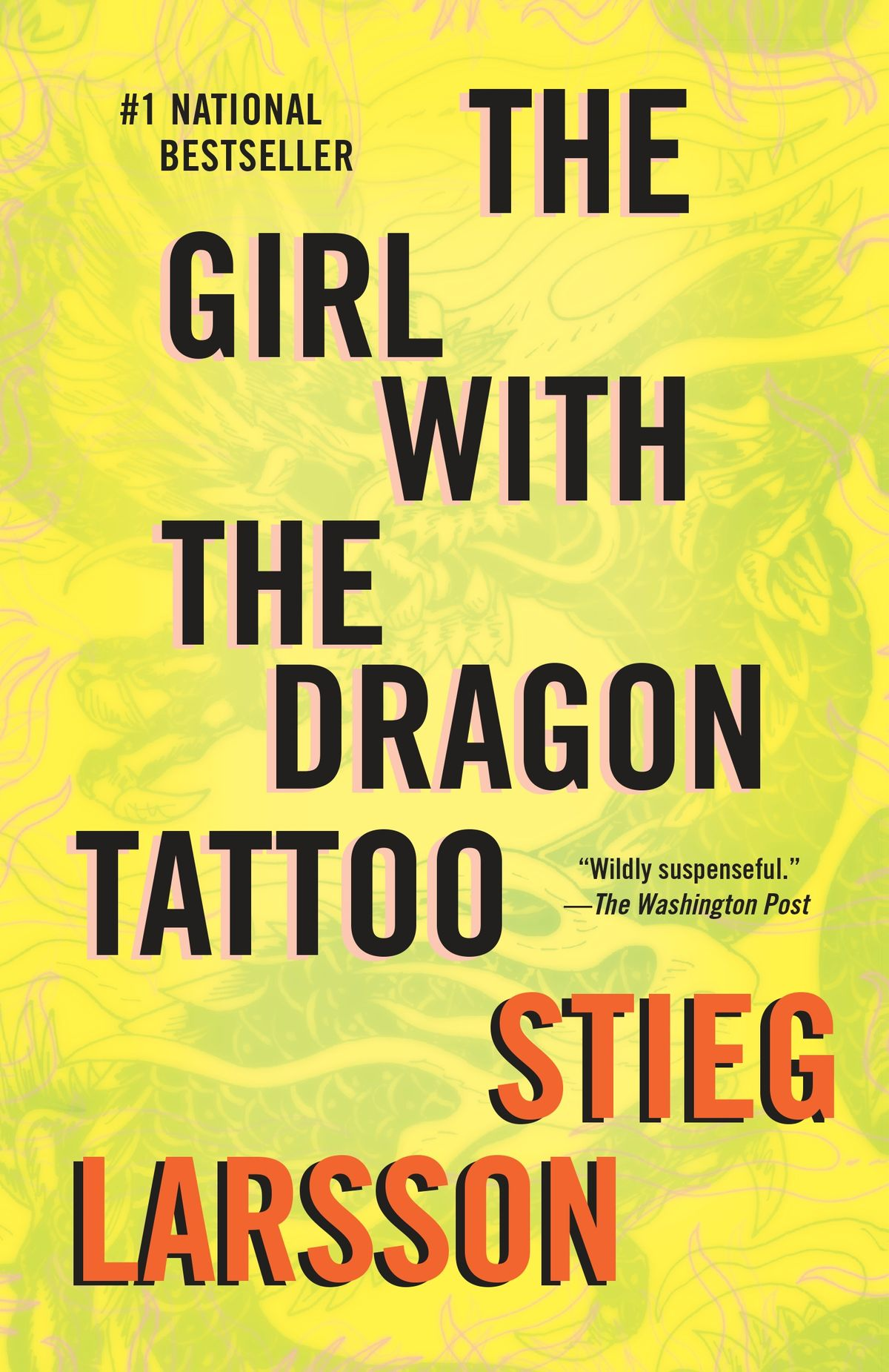 The Girl with the Dragon Tattoo Novel by Stieg Larsson